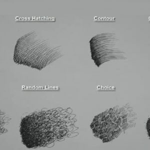 Outstanding Graphite Drawings For Beginners Free 8 Basic Pen/pencil Strokes | Beginners Introduction Image
