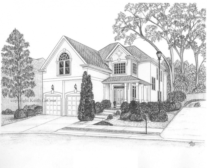 Outstanding House Pencil Drawing Simple House Pencil Drawing | Pencil Drawing By Keith Lacour - Draw… | Flickr Picture