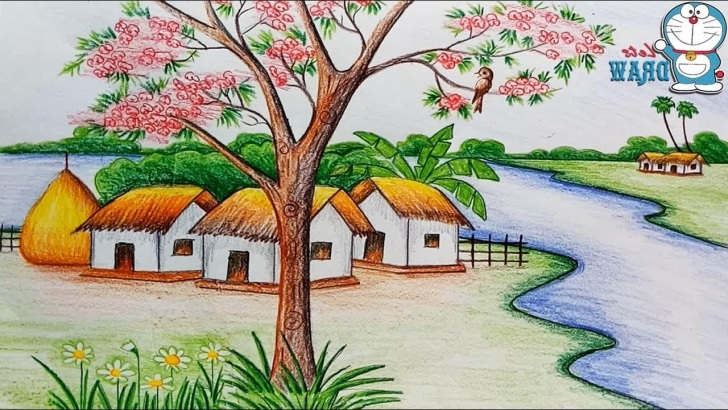 Outstanding Images For Drawing Natural Scenary Courses Natural Scenery Drawing At Paintingvalley | Explore Collection Photos