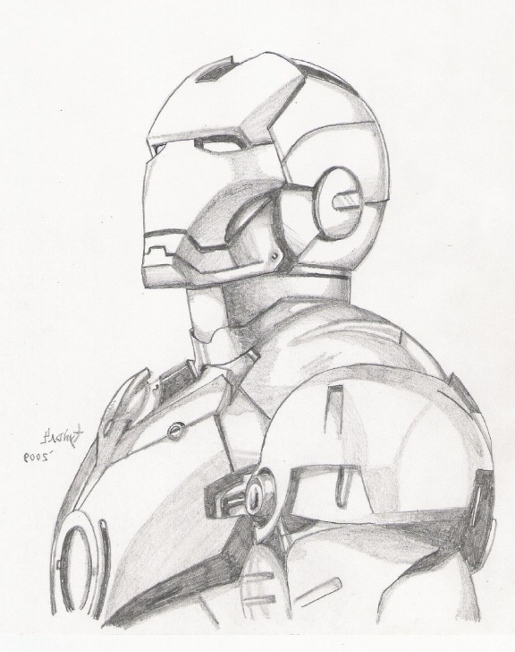 Outstanding Iron Man Drawings In Pencil Easy Tutorial Sketch Man Deviantart At Paintingvalley | Explore Collection Of Images