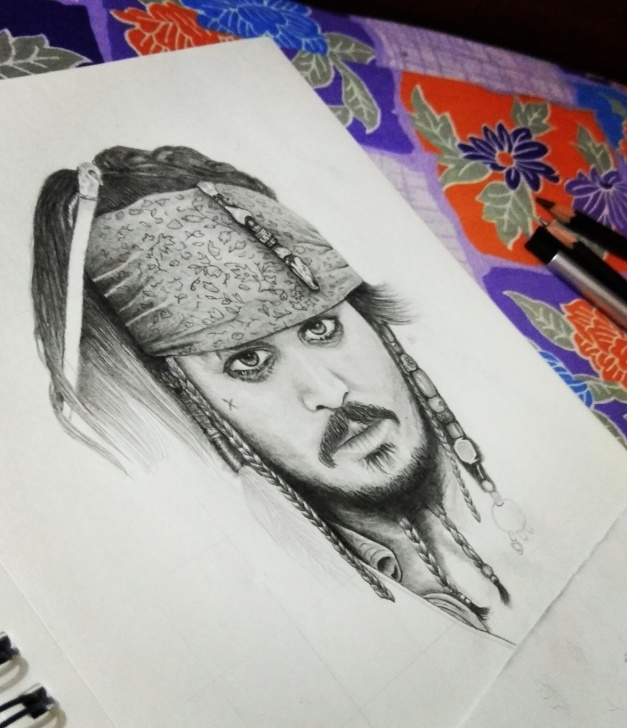 Outstanding Jack Sparrow Pencil Drawing Lessons Pencil Drawing Of Jack Sparrow – Creativentechno Pic