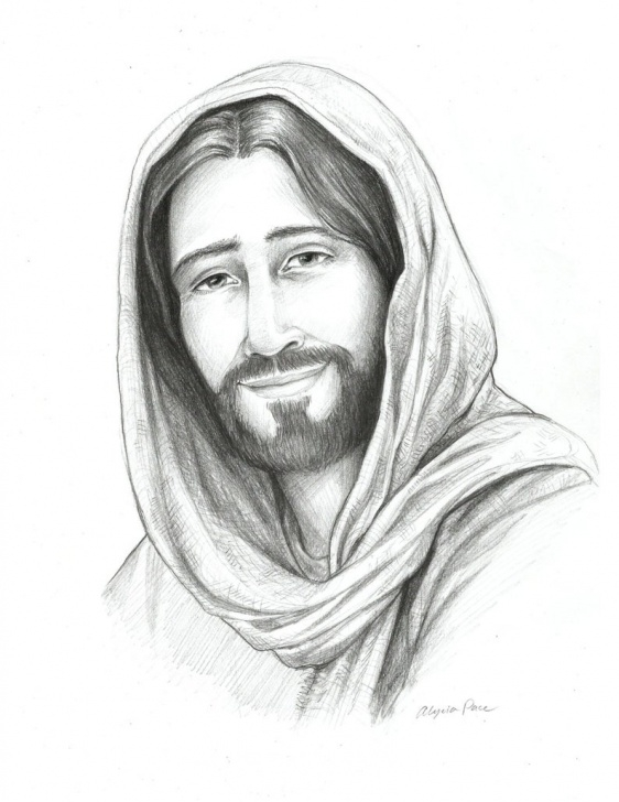 Outstanding Jesus Christ Pencil Sketch Tutorial Drawing Of Christ, Sketch Of Jesus, Religious Art, Savior Of The World,  Pencil Sketch, Christian, Lds, Mormon Images