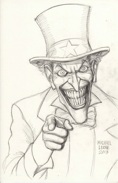 Outstanding Joker Pencil Drawing Ideas Joker Pencil Sketch At Paintingvalley | Explore Collection Of Images