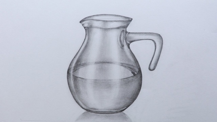 Jug Pencil Drawing