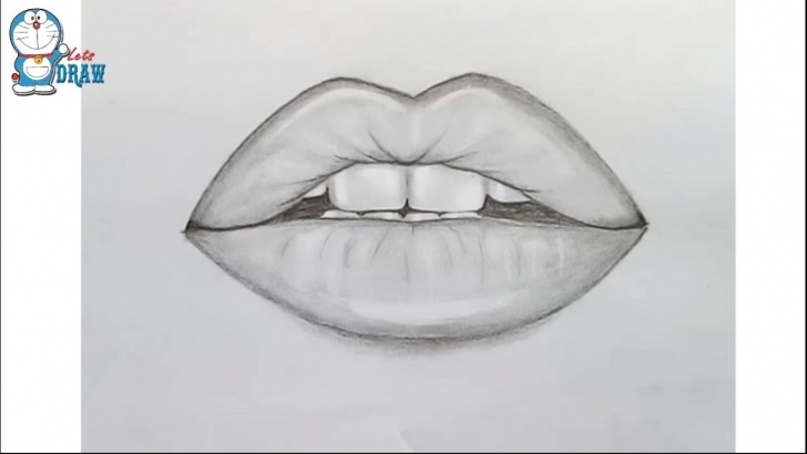 Outstanding Lip Pencil Sketch Step by Step How To Draw Lips By Pencil Step By Step Photo