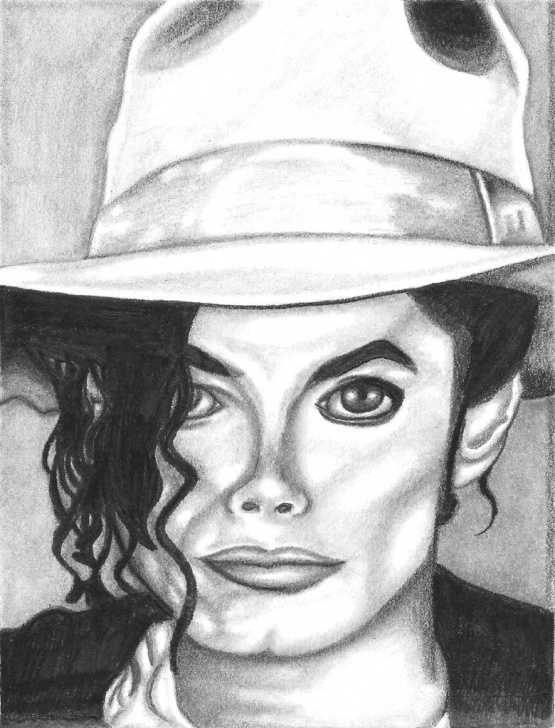 Michael Jackson Pencil Sketch