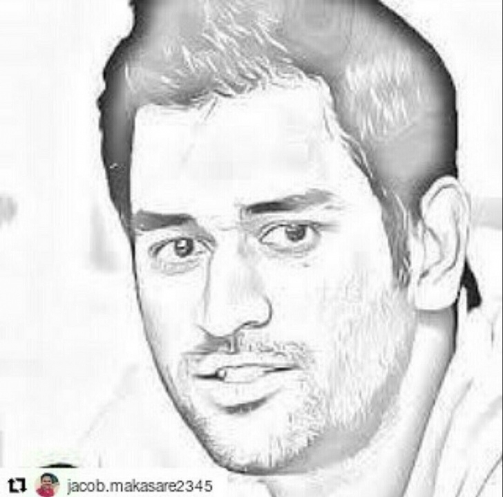 Outstanding Ms Dhoni Pencil Sketch Ideas Pin By Scarlet Ibis On Msd | Art Sketches, Dhoni Wallpapers, Cricket Image