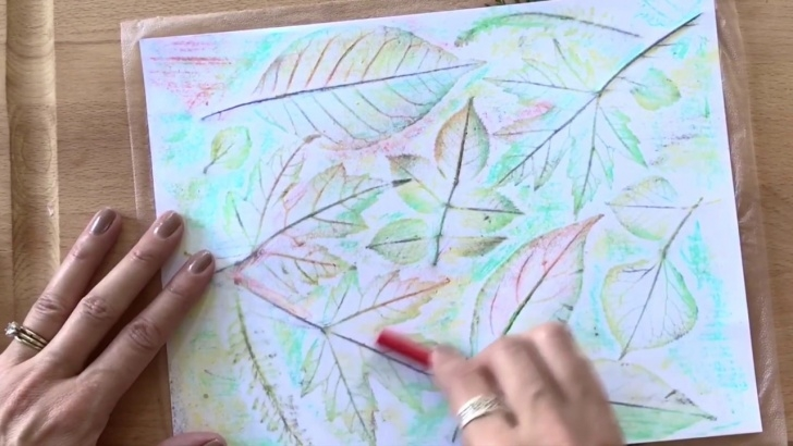 Outstanding Pencil Rubbing Art Techniques How To Make Leaf Rubbing Art Image