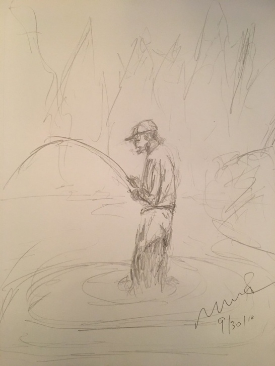 Outstanding Quick Pencil Sketches Lessons Fisherman. Quick Pencil Sketch | Mark Bonica | Flickr Pics