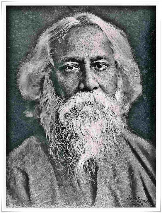Outstanding Rabindranath Tagore Pencil Sketch Techniques Rabindranath Tagore Drawing At Paintingvalley | Explore Pic