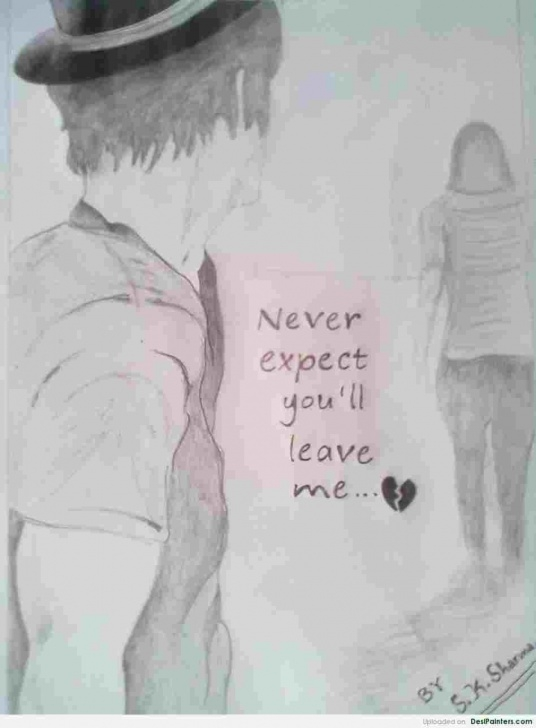 Outstanding Sad Love Sketch for Beginners Pencil Sketches Of Sad Love Sketch Sad Images Lover Love Pics