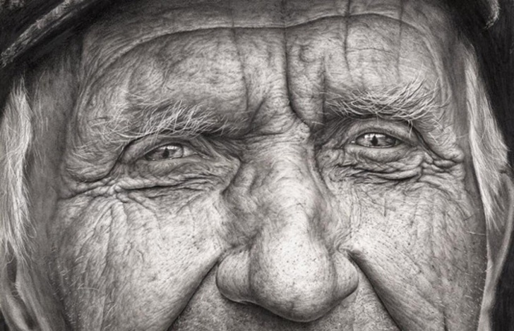 Outstanding Shania Mcdonagh Art Techniques This Incredible, Photorealistic Portrait Is The Work Of A 16-Year Pic