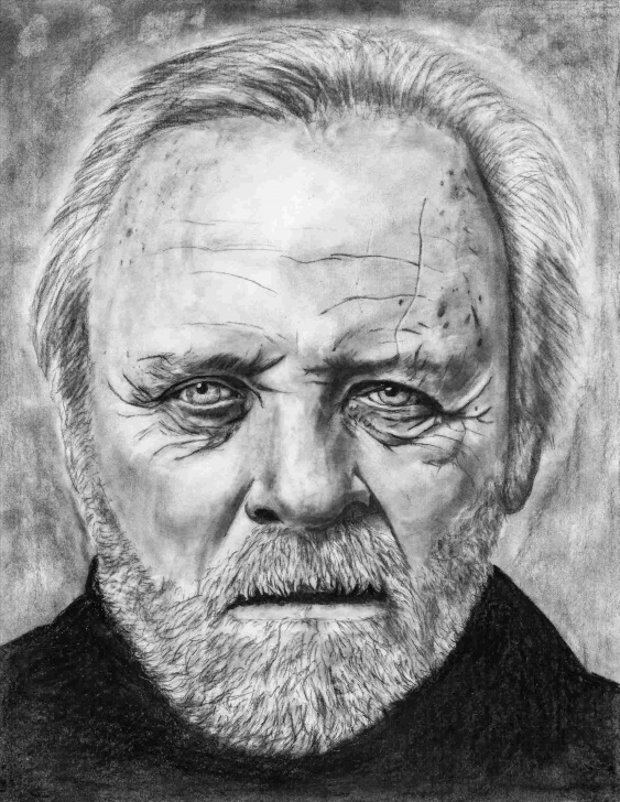 Outstanding Shania Mcdonagh Drawings Easy Old-Man-Human-An-Shania-Mcdonagh-Pencil-Drawing-Old-Man-Human Image
