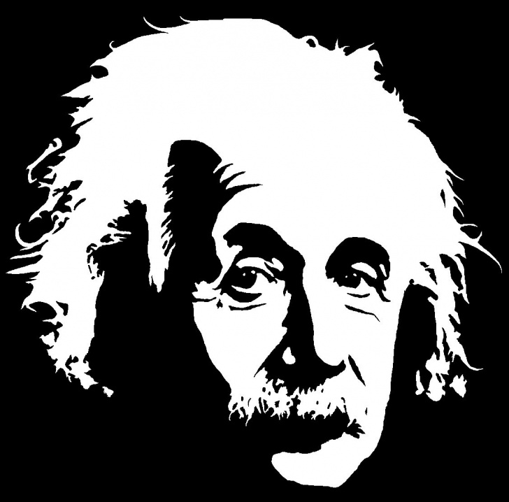 Outstanding Stencil Art Black And White Tutorial Our Reaction To Beauty: Art, Science And Einstein | Stuff To Buy In Pictures
