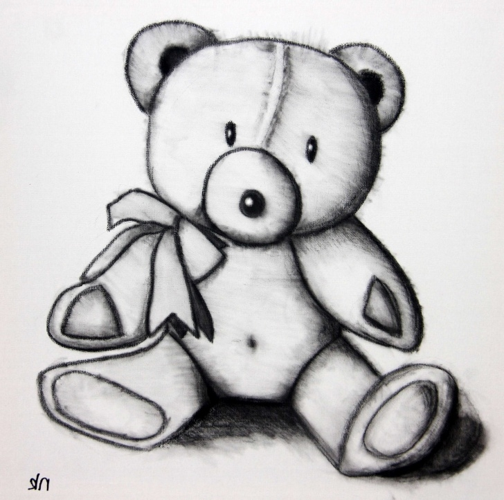 Outstanding Teddy Bear Pencil Sketch Tutorials Teddy Bear Sketch At Paintingvalley | Explore Collection Of Photo