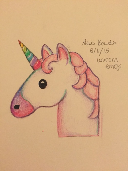 Outstanding Unicorn Pencil Drawing Step by Step Unicorn Emoji! … | Sketches | Unico… Pictures