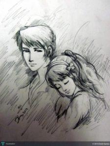 Popular Boy And Girl Pencil Sketch Tutorials Pencil Sketch Of Boy At Paintingvalley | Explore Collection Of Photos