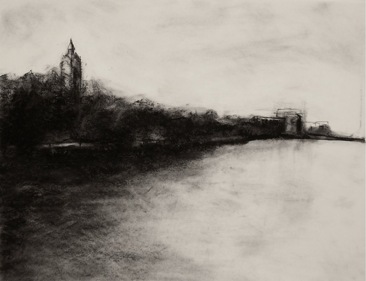 Popular Charcoal Landscape Sketches Tutorials Charcoal Landscape Sketches And Landscape Charcoal Drawings Photos