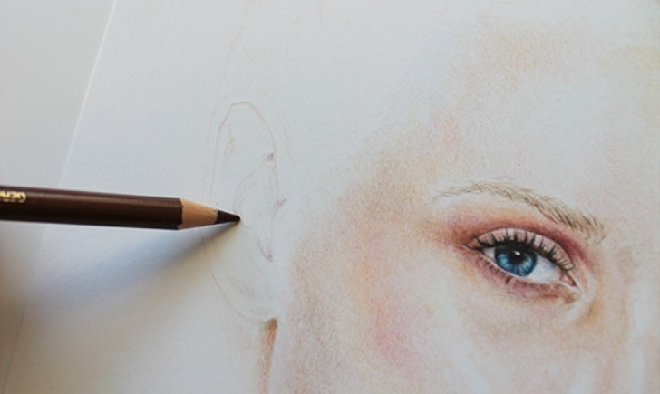 Popular Colored Pencil Drawings Step By Step Tutorial Painting With Colored Pencils: Creating A Realistic Portrait Photos