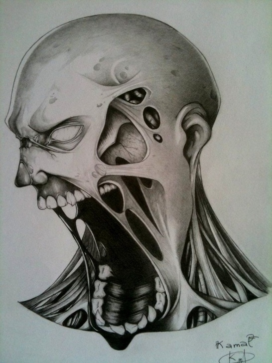 Popular Creepy Pencil Drawings Free 10+ Creepy Pencil Drawings - Pencil Drawing - Drawing Sketch Painting Pictures
