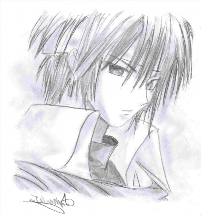 Popular Cute Anime Drawings In Pencil Tutorial Cute Anime Drawing Ideas At Paintingvalley | Explore Collection Pictures