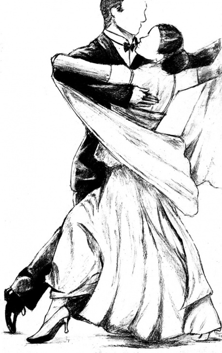 Popular Dancing Couple Sketch Courses Dancing Couple Sketch At Paintingvalley | Explore Collection Of Pic