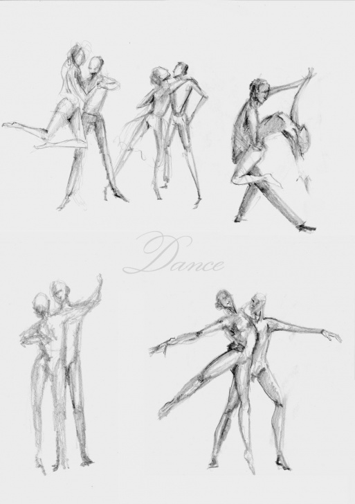 Popular Dancing Couple Sketch Step by Step Sketches | Dancing Couple Sketches By Shagatta On Deviantart Pics