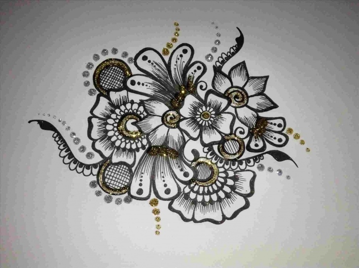Popular Design Pencil Drawing Tutorial Flower Designs For Pencil Drawing - Gigantesdescalzos Pictures