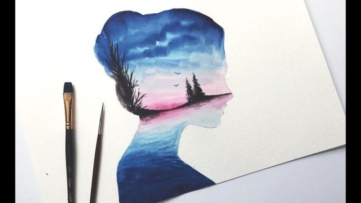 Easy Watercolor Pencil Drawings