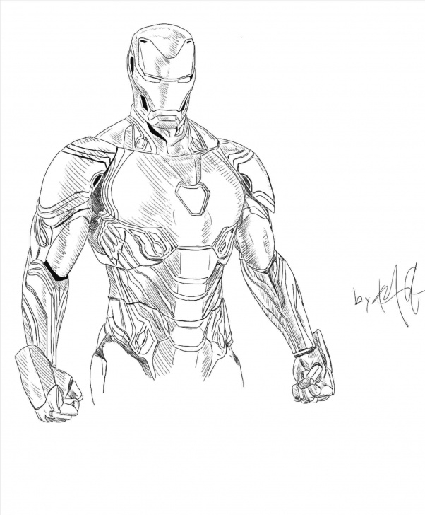 Popular Iron Man Drawing In Pencil Tutorials Iron Man Drawing In Pencil Easy S At Gets Free Rhmartcom Photo