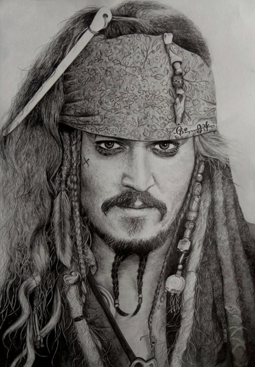 "Popular Johnny Depp Sketch Tutorial Simranjit Kaur On Twitter: ""johnny Depp As Captain Jack Sparrow Pics"