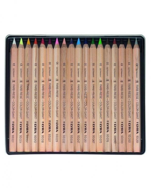 Popular Lyra Art Pencils Techniques Lyra Color Giants - 18 In Tin Photo