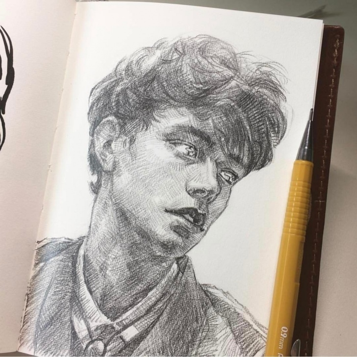 Popular Pencil Drawing Instagram Free Instagram #mensfashionillustration | Sketch Book Beauty In 2019 Pic