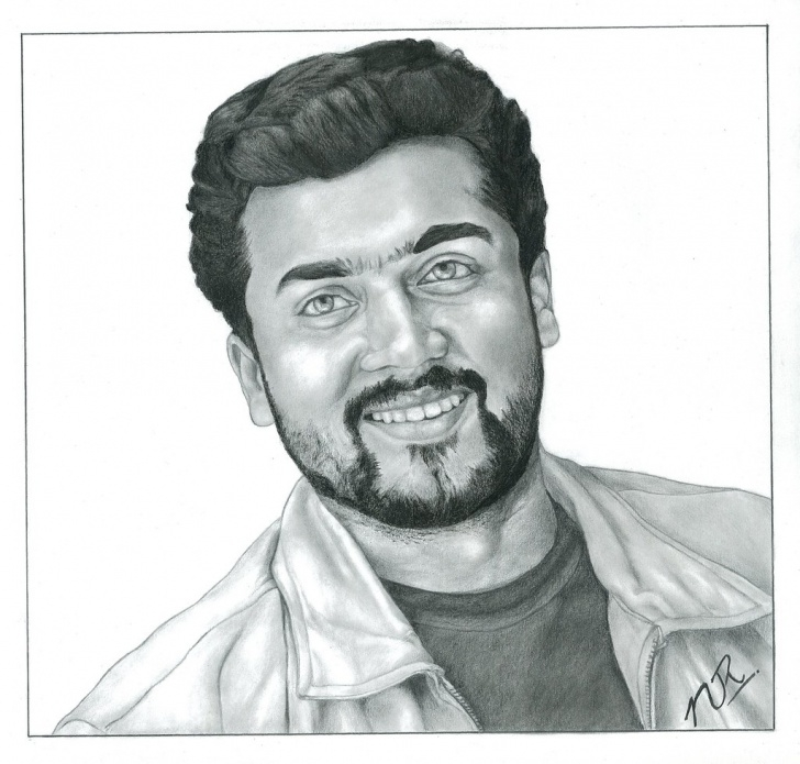 Popular Pencil Shading Portrait Easy Pencil Shading Portrait Of Surya | Pencil Shading Portrait O… | Flickr Photos