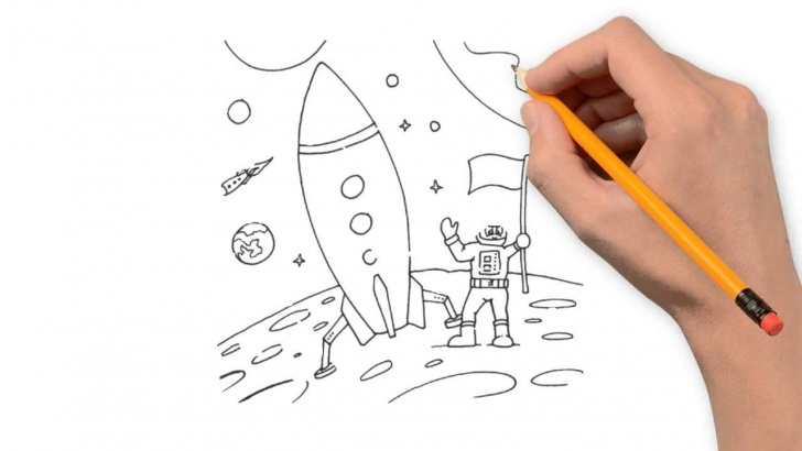 Popular Rocket Pencil Drawing Tutorials Rocket Pencil Things To Draw Step By Step Images
