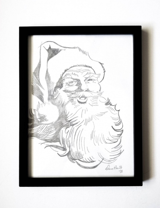 Popular Santa Pencil Drawing Easy Pin By Jax's Mama On **** Etsy Group Board **** | Santa Claus Picture