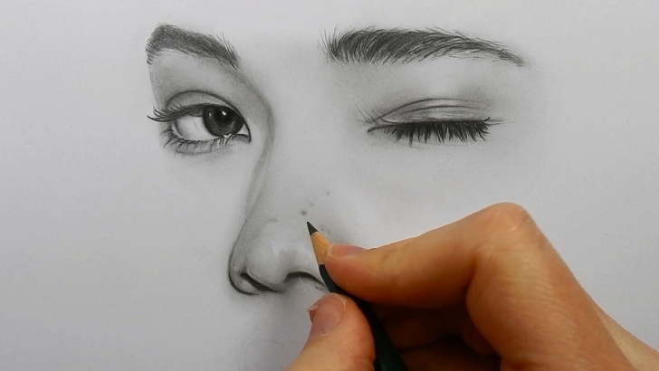 Popular Shading With Graphite Pencils Tutorials Drawing Shading And Blending A Face With Graphite Pencils - Faber Pic