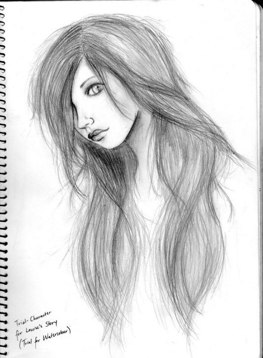 Popular Simple Pencil Sketch Of Girl Lessons Easy Pencil Drawings Of Girls Faces - Google Search | Drawings Pictures