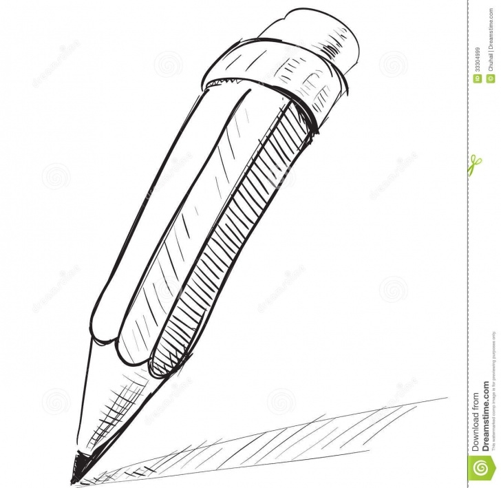 Popular Sketch Of Pencil Free Pencil Sketch Cartoon Vector Illustration Stock Vector Pic