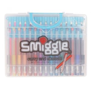Popular Smiggle Carry And Sketch Courses Pen & Pencil Multi Pack X60 - Smiggle Online Photos