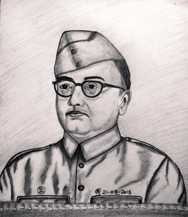 Popular Subhash Chandra Bose Pencil Drawing Tutorials Netaji Subhas Chandra Bose | Pencil Drawing In 2019 | Pencil Photo