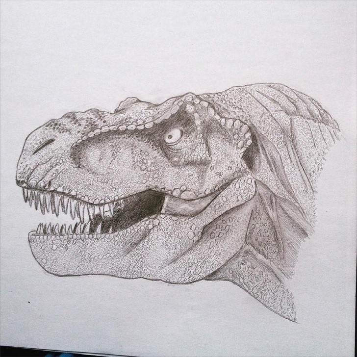Popular T Rex Pencil Drawing Techniques My Entry #2 : T-Rex Pencil Drawings — Stan Winston School Of Images