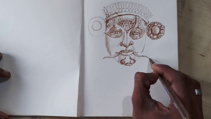 Popular Theyyam Pencil Drawing Tutorial Theyyam Sketch Tutorials Photos
