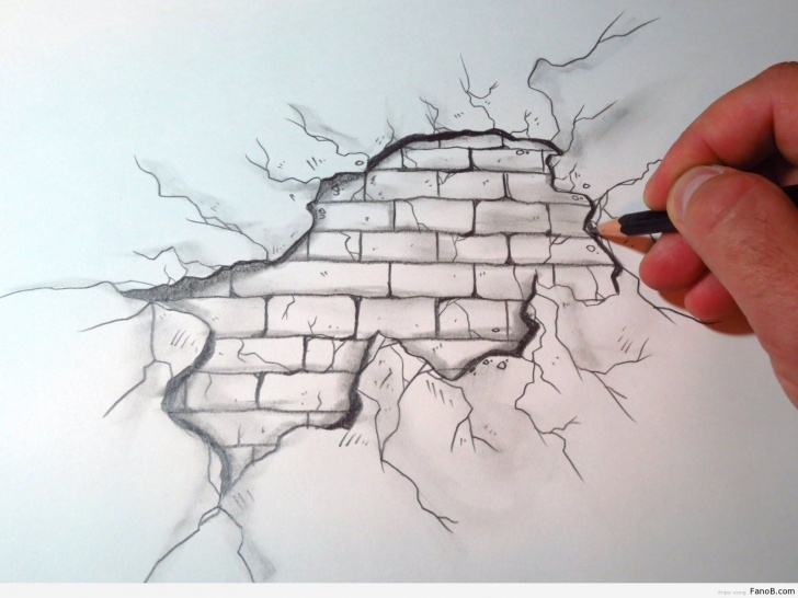 Popular Wall Pencil Drawing Step by Step Easy Wall Drawing Ideas | Drawing Ideas✍ | Meaningful Drawings Photos