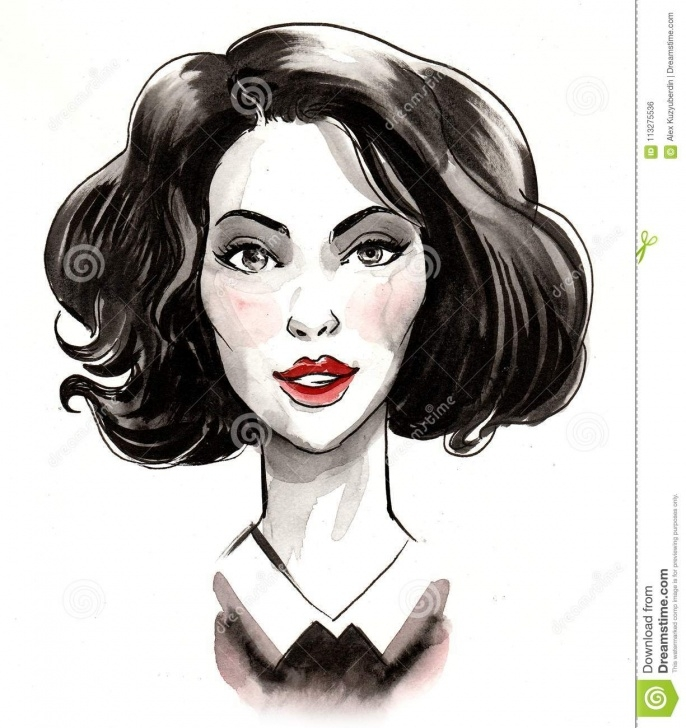 Remarkable Beautiful Woman Sketch Tutorial Beautiful Woman Sketch Stock Photo. Image Of Portrait - 113275536 Pictures