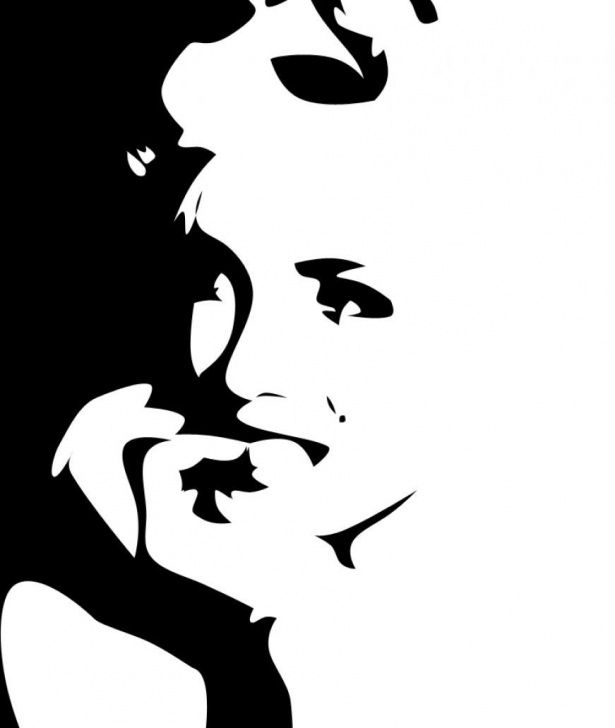 Remarkable Black And White Stencil Art Ideas Pop Art Silhouette | Marilyn Monroe Art | Artsy | Marilyn Monroe Art Photos