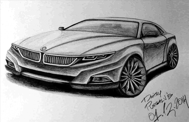 Remarkable Car Pencil Drawing for Beginners Pencil Sketch Car Images Pictures