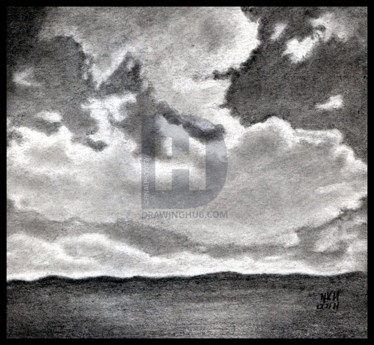 Remarkable Cloud Pencil Drawing Courses How To Draw Realistic Clouds, Draw Clouds, Step By Step, Drawing Photo
