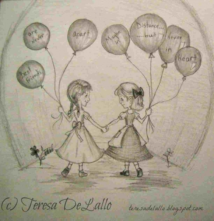 Remarkable Cute Friendship Drawings In Pencil Ideas Such-Cute-Friendship-Drawings-In-Pencil-A-Picture-Best-Friends-Who Images