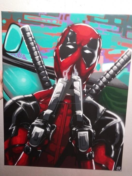 Remarkable Deadpool Stencil Art for Beginners Deadpool Stencil Art - Available By Defyingmykarma On Deviantart Photo